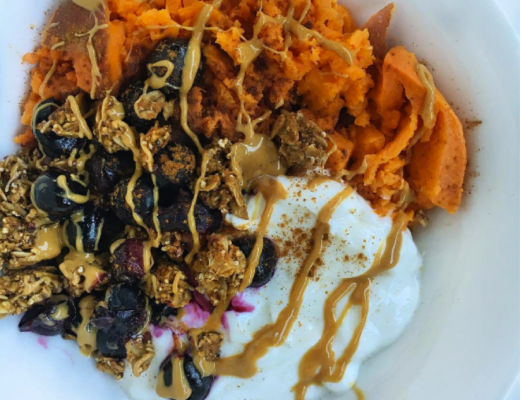 SweetPotatoYogurtGranolaPowerBowl