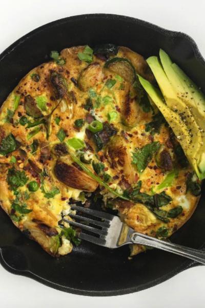 Greens Omelettata