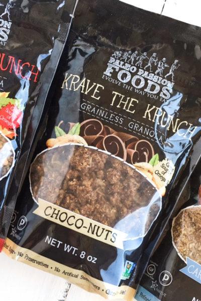 Paleo Passion Foods Krave The Krunch Grainless Granola