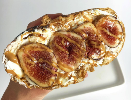 YogurtandFigSourdoughToast