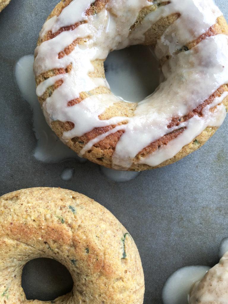 Pumpkin Spice Protein Donuts