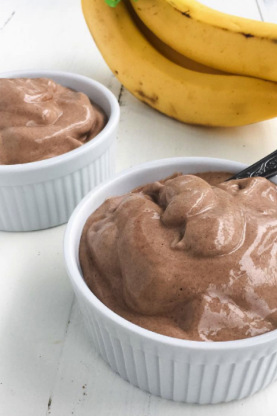 Vegan Chocolate Nice Cream