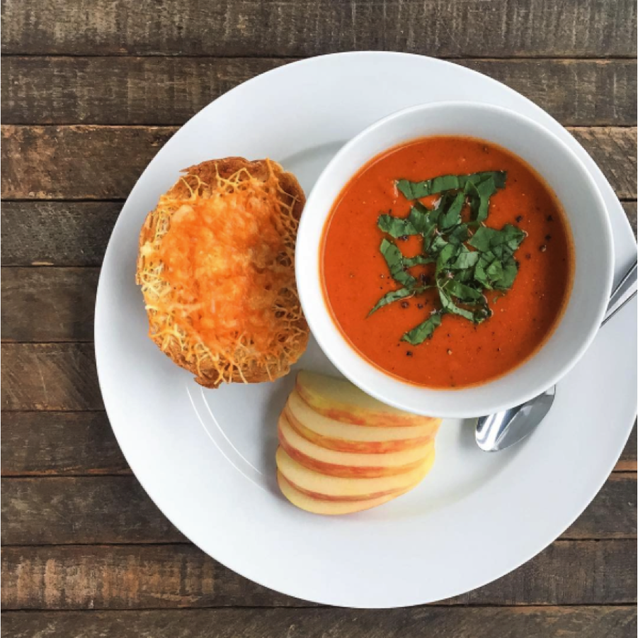 Vegan Roasted Red Pepper Tomato Soup - Rachael's Good Eats