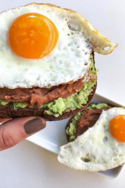 Beancado With Egg