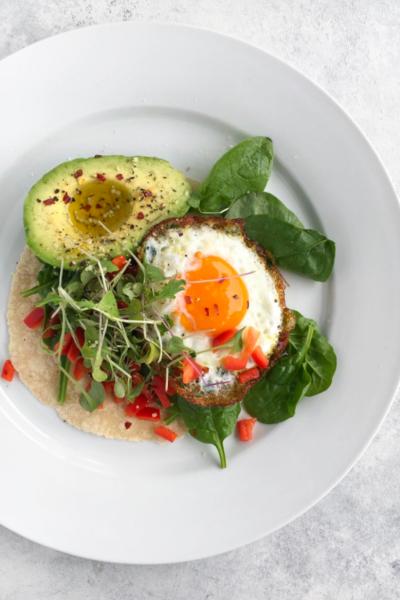 Fried Egg Breakfast Taco