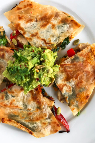 Quesadilla– New And Improved