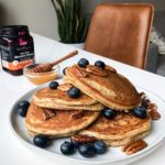 Gluten Free Pancakes (using Simple Mills box mix)