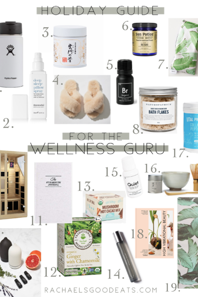 RGE 2018 Holiday Guide for the Wellness Guru
