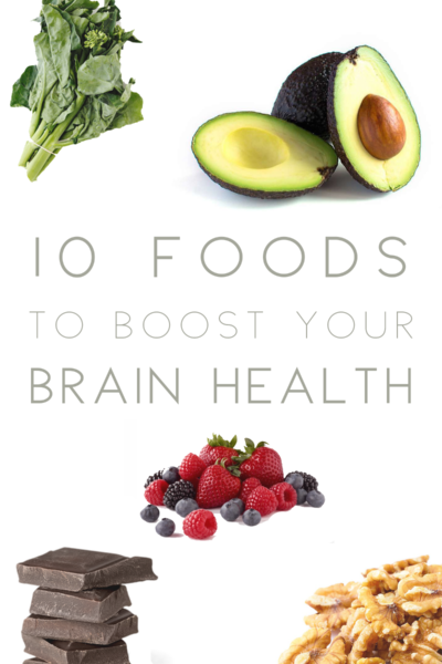 10 Foods To Boost Your Brain Power
