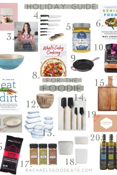 2018 Holiday Gift Guide For The Foodie