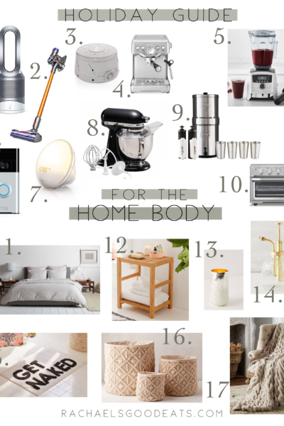 2018 Holiday Gift Guide For the Home Body