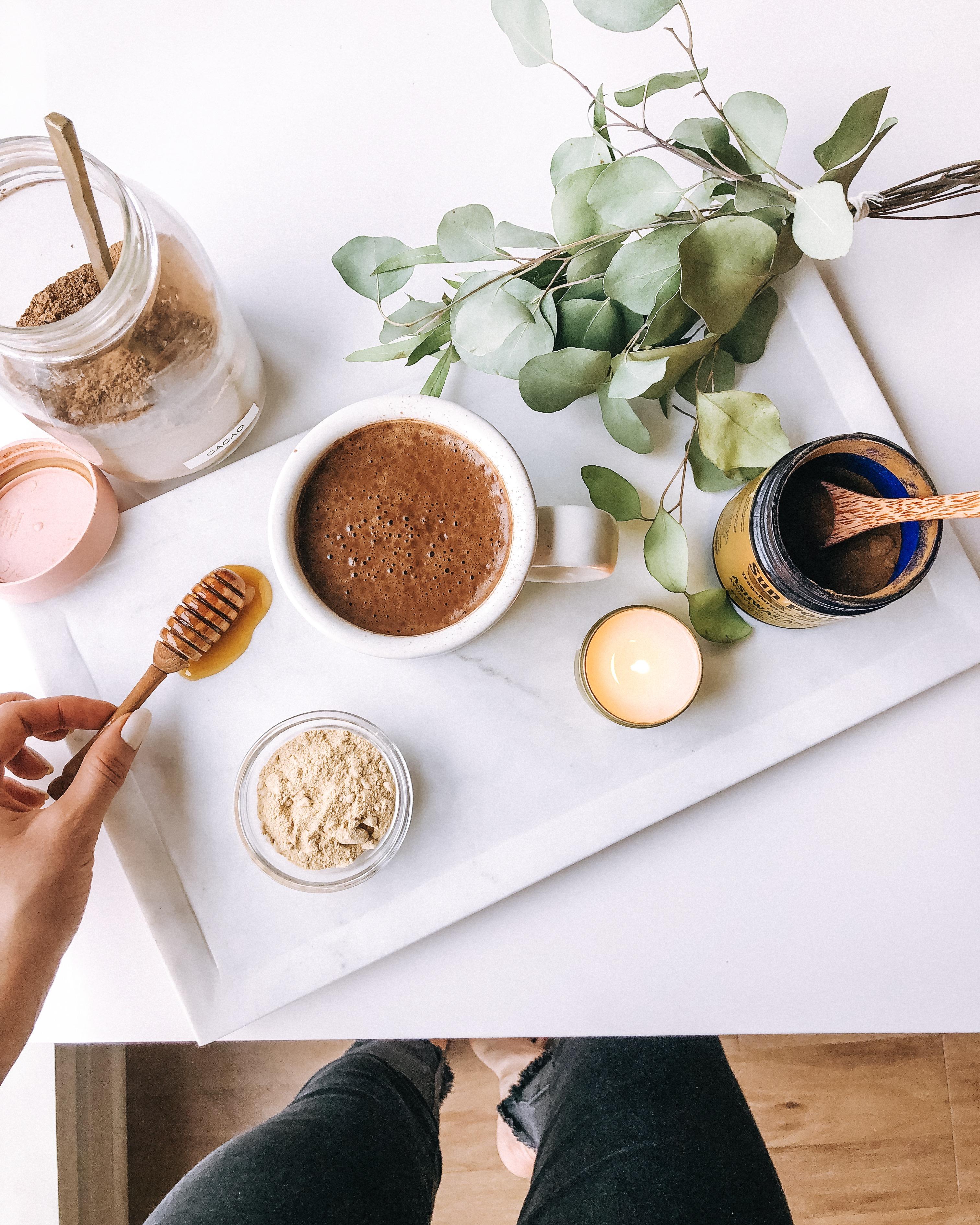 Hormone-Balancing Chocolate Elixir - Rachael's Good Eats