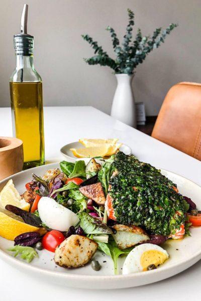 Copycat Nordstrom Cafe Wild Salmon Niçoise Salad