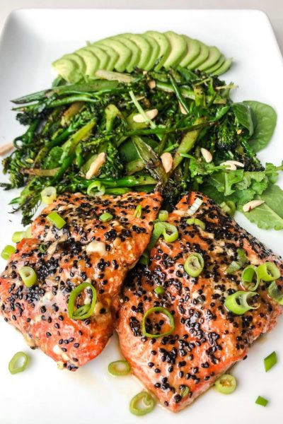 The Best Sesame Crusted Salmon You Didn't Know You Needed