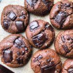 Tahini Chocolate Chunk Cookies (GF, Dairy-free, Refined Sugar-free)