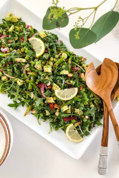 Arugula and Lemon Summer Salad