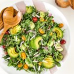 Walnut Basil Pesto Salad